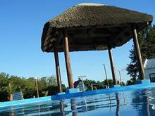 piscina al aire libre de las termas de almiron
